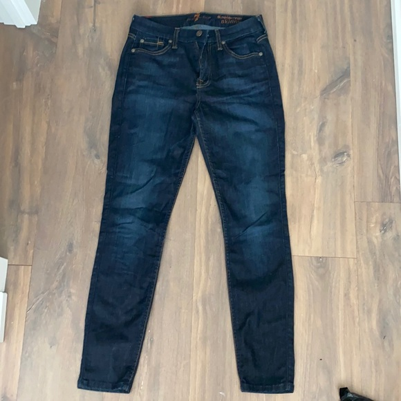 7 for all mankind jeans Mid rise ankle size 26